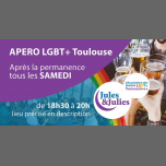 Apéro LGBT+ Toulouse - Jules & Julies in Toulouse le Sat, April  6, 2019 from 06:30 pm to 08:00 pm (Meetings / Discussions Gay, Lesbian)