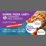 Soirée LGBT+ Pizza - Jules & Julies in Toulouse le Thu, March 14, 2019 from 06:00 pm to 10:00 pm (Meetings / Discussions Gay, Lesbian)