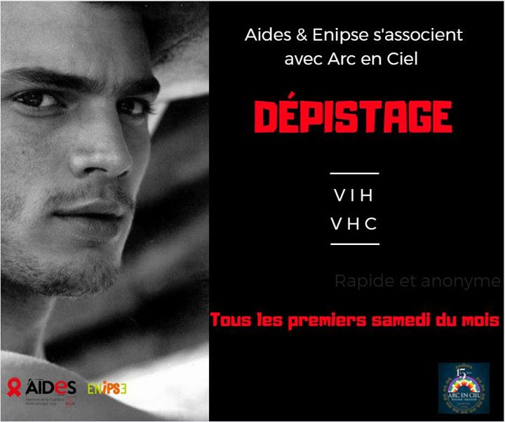 Dépistage VIH/Hépatites par AIDES & l'ENIPSE in Toulouse le Sat, June  1, 2019 from 03:00 pm to 05:00 pm (Health care Gay, Lesbian, Bear)