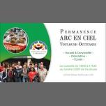 Permanence ARC EN CIEL Toulouse/Occitanie à Toulouse le sam.  6 juillet 2019 de 14h00 à 17h30 (Rencontres / Débats Gay, Lesbienne, Bear)