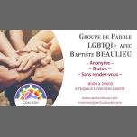 图卢兹Groupe de parole LGBT+ avec Baptiste Beaulieu2018年 6月19日,18:00(男同性恋, 女同性恋, 熊 见面会/辩论)