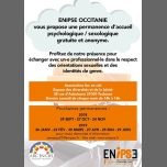 Permanence Ecoute Psy Et Sexo in Toulouse le Sat, June 29, 2019 from 02:00 pm to 04:00 pm (Meetings / Discussions Gay, Lesbian, Bear)