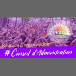 Réunion Conseil d'Administration PRIDE Toulouse a Tolosa le mar 12 marzo 2019 20:00-22:00 (Vita associativa Gay, Lesbica, Etero friendly, Orso)