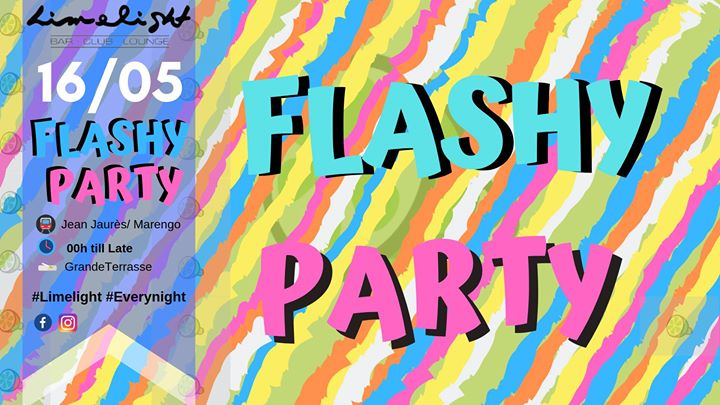 Flashy Party - Limelight Toulouse à Toulouse le jeu. 16 mai 2019 de 23h50 à 07h00 (Clubbing Gay Friendly)