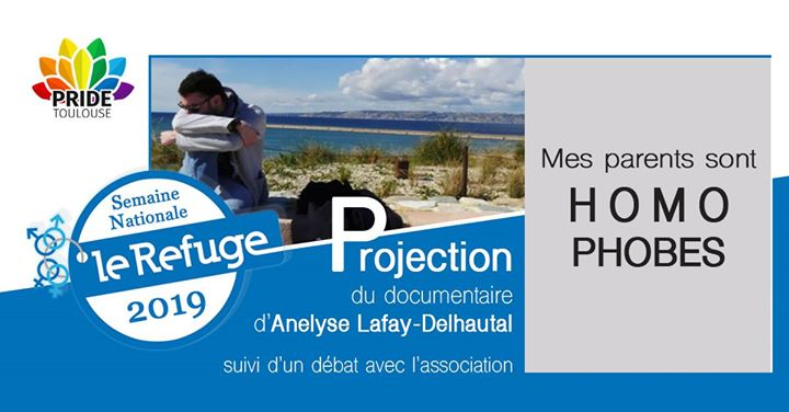 "Projection documentaire ""Mes parents sont homophobes"" + Débat en Tolosa le mar 14 de mayo de 2019 19:30-23:00 (Reuniones / Debates Gay, Lesbiana)"