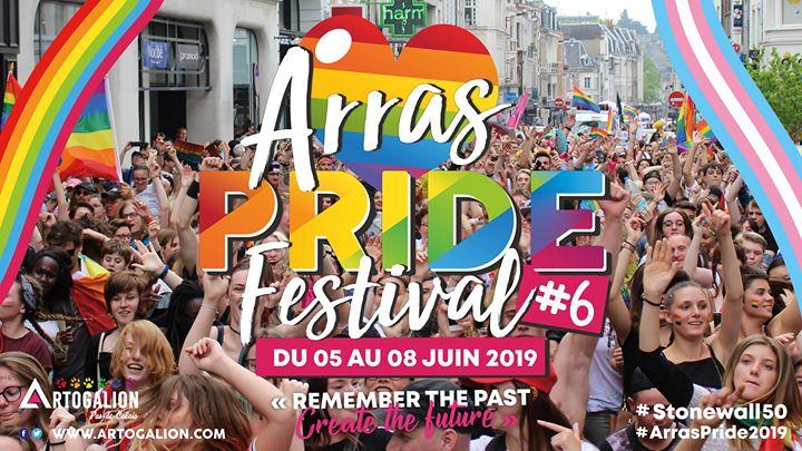 Arras Pride Festival 2019 em Arras de  5 para  9 de junho de 2019 (Festival Gay, Lesbica, Hetero Friendly, Trans, Bi)