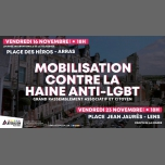 Mobilisation contre la haine anti-LGBT+ in Arras le Fri, November 16, 2018 from 06:00 pm to 08:00 pm (Parades Gay, Lesbian)