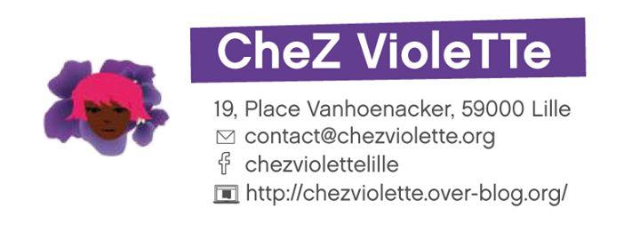 Joyeuse permanence de Chez Violette à Lille le mer.  1 avril 2020 de 18h00 à 20h00 (Rencontres / Débats Lesbienne)