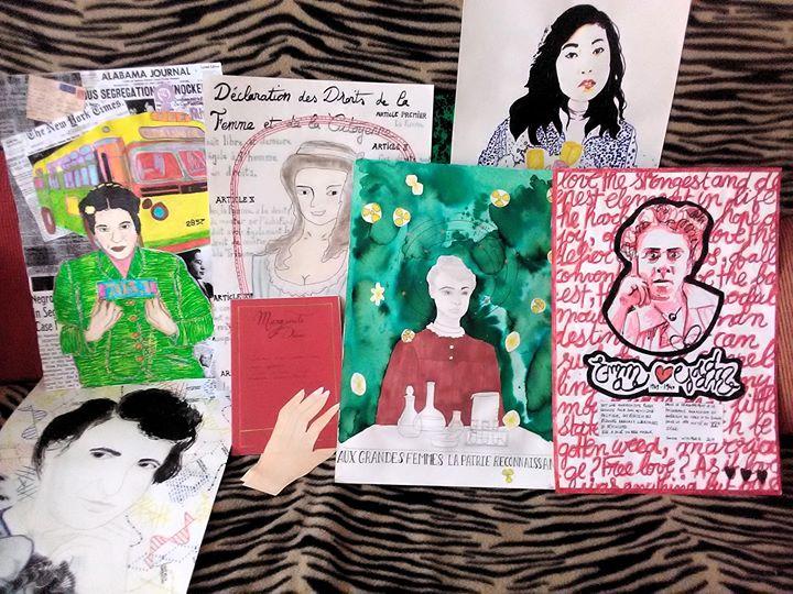 """Atelier d'Arts Plastiques Libres """"Portrait·S"""" em Lille le dom, 22 dezembro 2019 14:00-18:00 (Workshop Lesbica)"""
