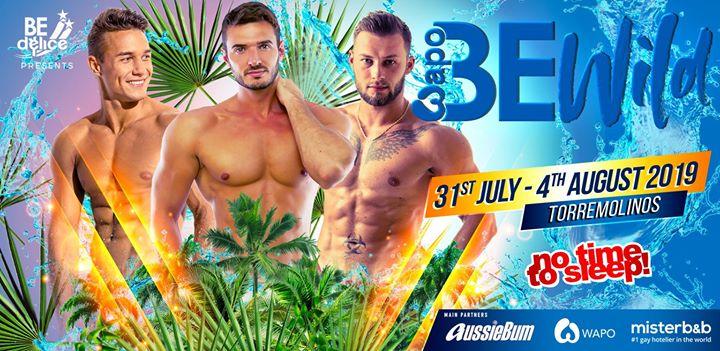 Be Wild Festival - Torremolinos a Torremolinos dal 31 luglio- 5 agosto 2019 (Festival Gay, Lesbica)