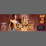 DELICE 15ème Anniversaire à Strasbourg le sam. 18 février 2017 de 03h00 à 07h00 (Clubbing Gay, Lesbienne)