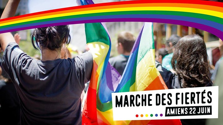 1ère Marche des fiertés 2019 - Amiens in Amiens le Sat, June 22, 2019 from 02:00 pm to 05:00 pm (Parades Gay, Lesbian)