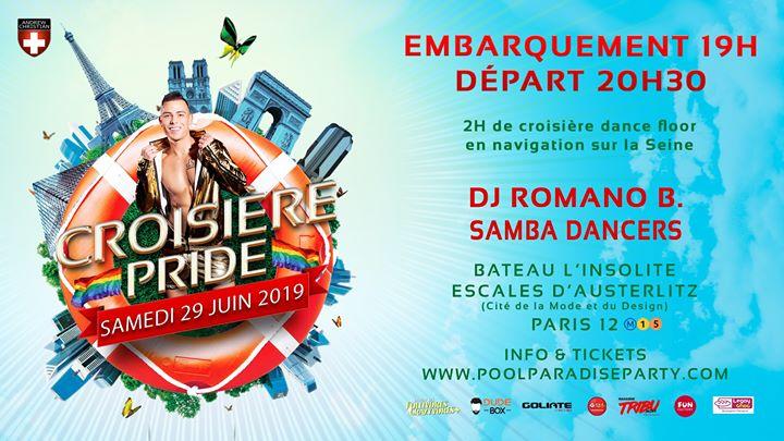 Croisière Pride Paris 2019 in Paris le Sat, June 29, 2019 from 07:00 pm to 10:30 pm (Cruise Gay, Lesbian)