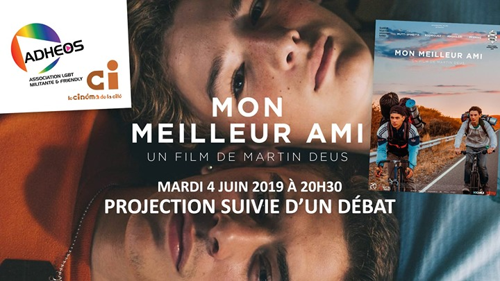 "Projection-Débat ""Mon Meilleur Ami"" de Martin Deus in Angoulême le Tue, June  4, 2019 from 08:30 pm to 11:00 pm (Cinema Gay, Lesbian)"