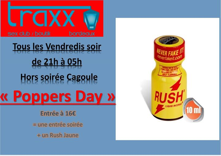 Poperrs Day in Bordeaux le Fri, May 10, 2019 from 09:00 pm to 05:00 am (Sex Gay)