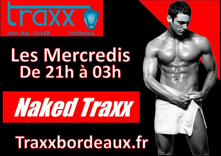 Naked Party in Bordeaux le Wed, November  6, 2019 from 09:00 pm to 03:00 am (Sex Gay)