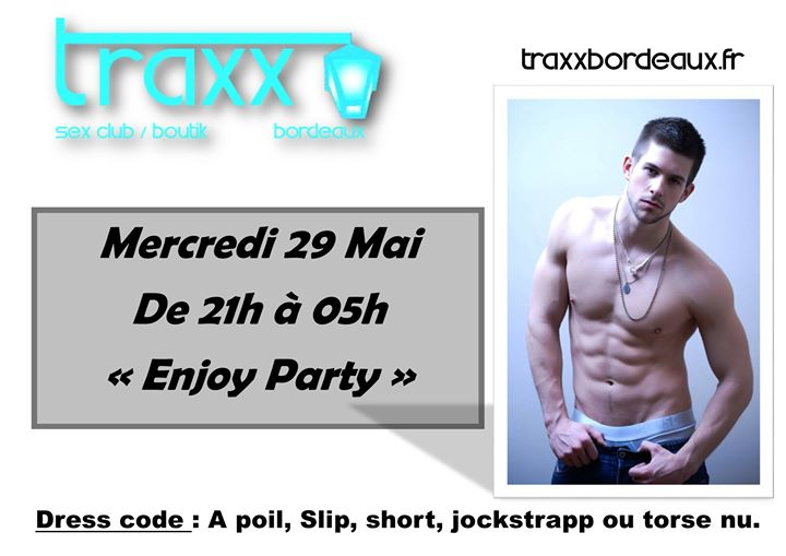 Mercredi 29 Mai in Bordeaux le Wed, May 29, 2019 from 09:00 pm to 05:00 am (Sex Gay)