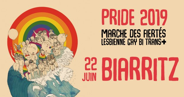 Marche Des Fiertes Biarritz 2019 in Biarritz le Sat, June 22, 2019 from 12:00 pm to 04:00 am (Parades Gay, Lesbian)