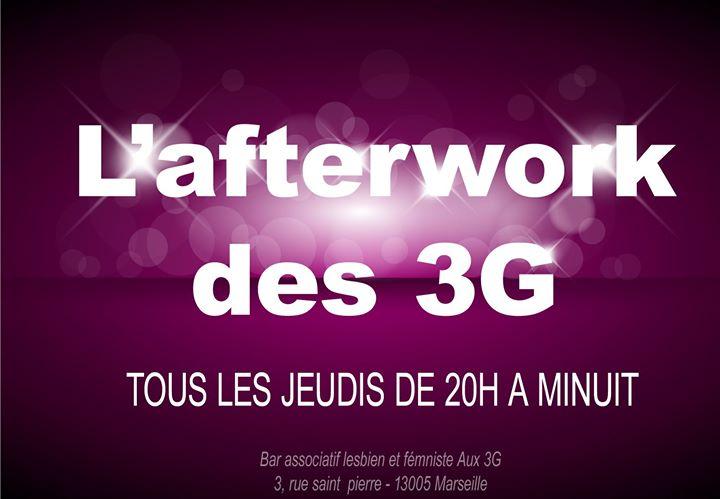 L'afterwork des 3G en Marsella le jue 30 de enero de 2020 20:00-23:45 (After-Work Lesbiana)