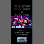 DJ Dalie aux 3G in Marseilles le Sat, March  2, 2019 from 08:00 pm to 02:00 am (After-Work Lesbian)