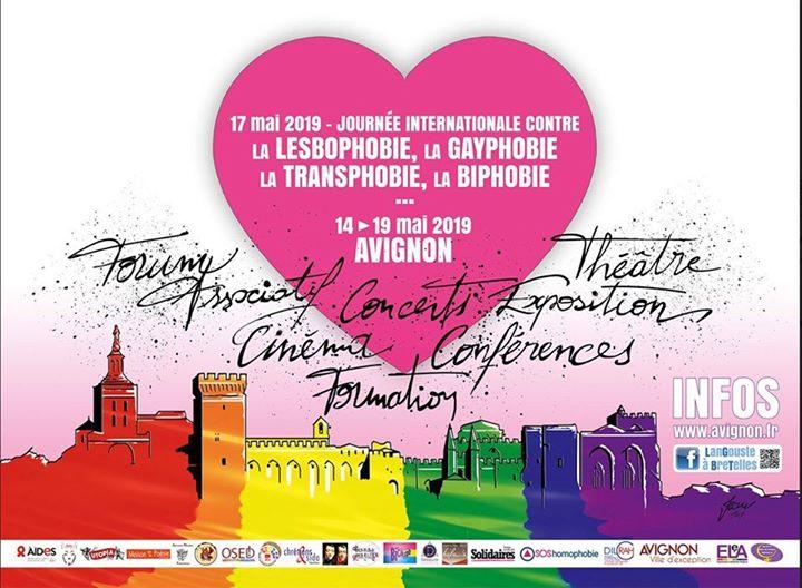 Idahot journée concert et forum associatif 18 mai à Avignon en Avignon le sáb 18 de mayo de 2019 15:00-21:00 (Reuniones / Debates Gay, Lesbiana, Hetero Friendly, Trans, Bi)