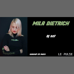 Mila Dietrich Enflamme le Pulse à Marseille le sam. 23 mars 2019 à 20h00 (After-Work Gay Friendly)