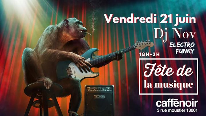 Fête de la musique in Marseilles le Fri, June 21, 2019 from 06:00 pm to 02:00 am (After-Work Gay Friendly)