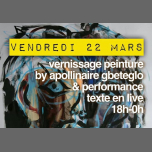 Vernissage peinture caffēnoir in Marseilles le Fri, March 22, 2019 at 06:00 pm (After-Work Gay Friendly)
