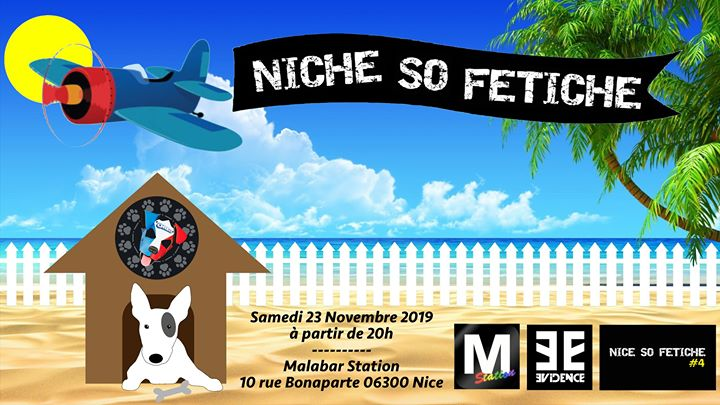 Niche So Fétiche in Nice le Sat, November 23, 2019 from 08:00 pm to 10:00 pm (After-Work Gay)