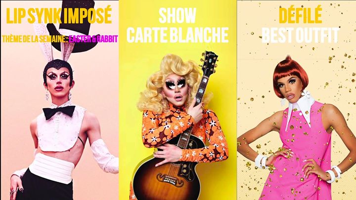 Drag Me Up - Easter and Rabbit in Paris le Sun, April 21, 2019 from 08:00 pm to 02:00 am (After-Work Gay)