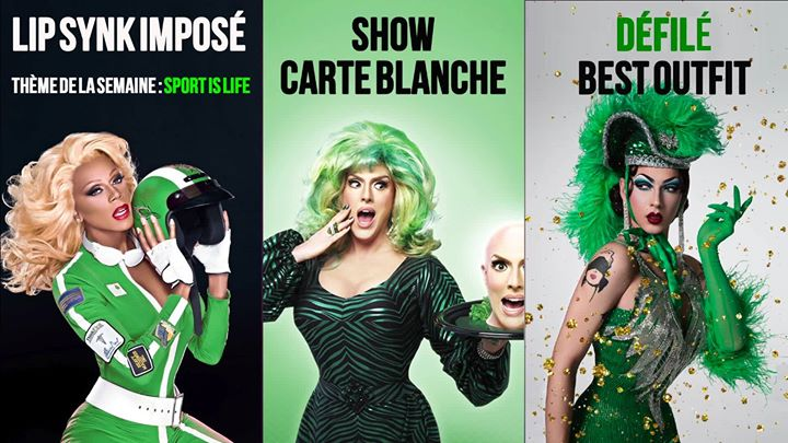 Drag Me Up - with SHUGA CAIN in Paris le Sun, April 14, 2019 from 08:00 pm to 02:00 am (After-Work Gay)