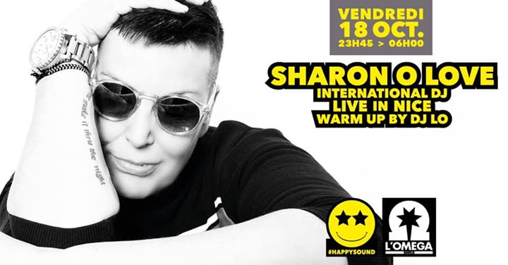 SuperStar Dj SHARON O'LOVE in Nice le Fri, October 18, 2019 from 11:45 pm to 06:00 am (Clubbing Gay)