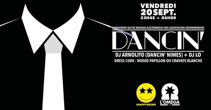 Dancin' by Arnolito @L'Oméga in Nice le Fri, September 20, 2019 from 11:45 pm to 06:00 am (Clubbing Gay)