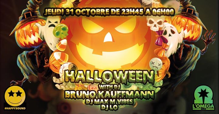 HALLOWEEN THE PARTY @L'Oméga Club in Nice le Do 31. Oktober, 2019 23.45 bis 06.00 (Clubbing Gay)