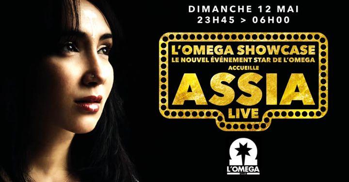 L Oméga ShowCase   Assia in Nice le So 12. Mai, 2019 23.45 bis 06.00 (Clubbing Gay)