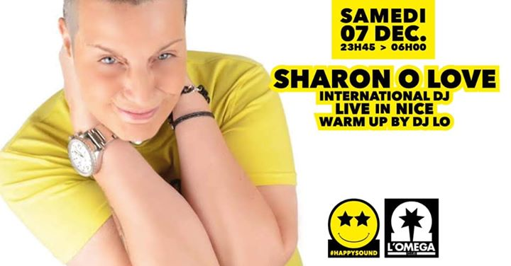 SuperStar Dj Sharon O'LOVE @ L'Oméga Club in Nice le Sa  7. Dezember, 2019 23.45 bis 06.00 (Clubbing Gay)