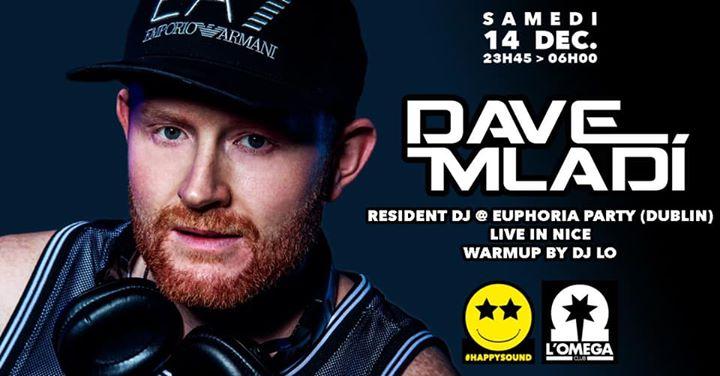 SuperStar Dj Dave MLADI @L'Oméga Clu en Niza le sáb 14 de diciembre de 2019 23:45-06:00 (Clubbing Gay)