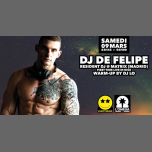 Happy Sound by DJ DE FELIPE from Madrid in Nice le Sat, March  9, 2019 from 11:45 pm to 06:00 am (Clubbing Gay)