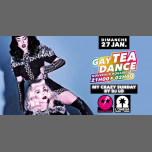 Gay Tea Dance My Crazy Sunday in Nice le Sun, January 27, 2019 from 11:45 pm to 02:00 am (Tea Dance Gay)
