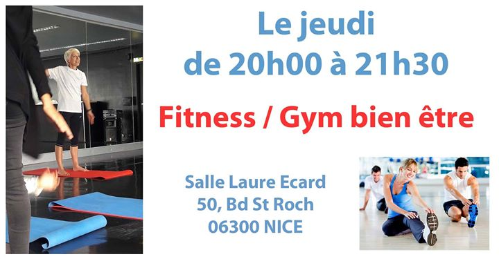 Fitness / Gym bien être in Nice le Do 23. Mai, 2019 20.00 bis 21.30 (Sport Lesbierin)