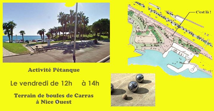 Activité Pétanque in Nice le Fri, May 24, 2019 from 12:00 pm to 02:00 pm (Sport Lesbian)