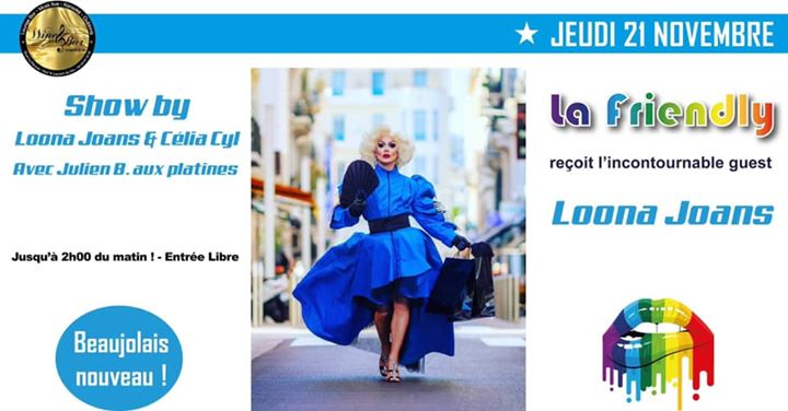 J'peux pas j'ai Friendly a Nizza le gio 21 novembre 2019 18:00-02:00 (After-work Gay, Lesbica, Trans, Bi)