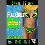 FuLL*Girlz BEACH PARTY à Cagnes-sur-Mer le sam. 17 juin 2017 de 19h30 à 00h30 (After-Work Gay Friendly, Lesbienne)