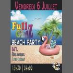 FULLGIRLZ BEACH KLUBBER à Nice le ven.  6 juillet 2018 de 19h00 à 04h00 (Clubbing Gay Friendly, Lesbienne)