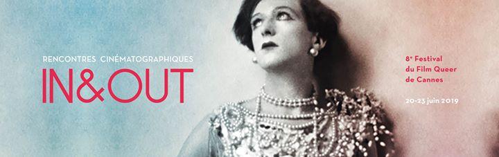 Festival In&Out Cannes 2019 en Cannes del 20 al 23 de junio de 2019 (Cine Gay, Lesbiana)