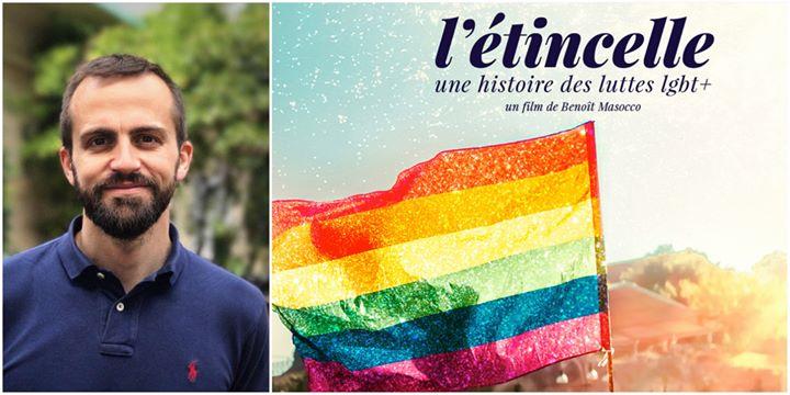 In&Out Nice reçoit Benoit Masocco / L'étincelle en Niza le dom 30 de junio de 2019 20:00-22:00 (Cine Gay, Lesbiana)