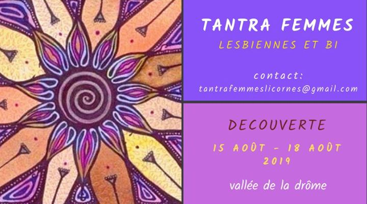 Stage Tantra Femmes Lesbiennes et Bi a Valencia dal 15-18 agosto 2019 (Laboratorio Lesbica)