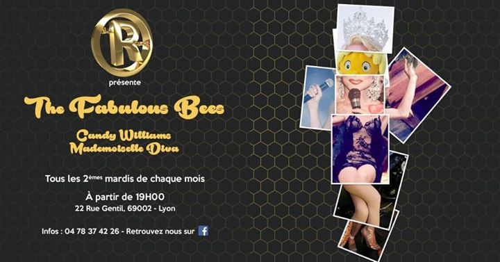 The Faboulous Bees in Lyon le Tue, May 14, 2019 from 07:30 pm to 12:00 am (After-Work Gay)