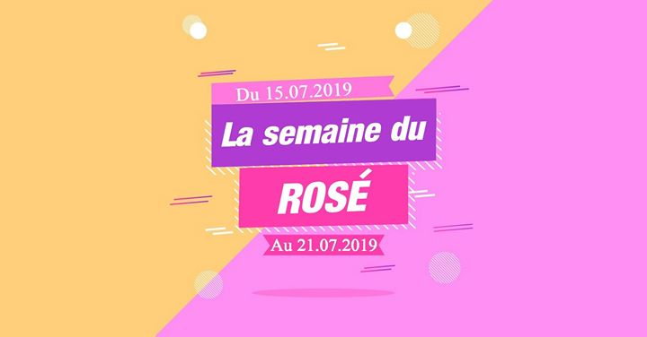 La Semaine du Rosé a Lione dal 15-21 luglio 2019 (After-work Gay)