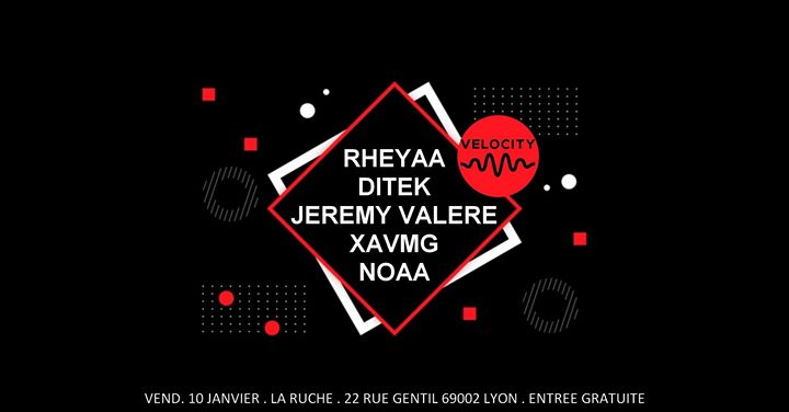 Residency Velocity in Lyon le Fri, January 10, 2020 from 06:00 pm to 12:30 am (After-Work Gay)